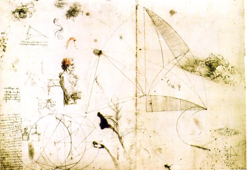 Leonardo Da Vincinin çizimleri Ve Taslakları Resim Galerisi