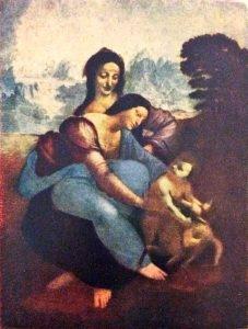 Anna, Meryem ve çocuk İsa
