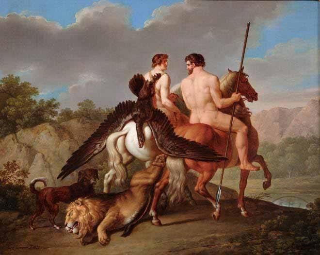 Neoklasisizm Sanat Akımı, Yeni Klasizm Giuseppe Cammarano, Herkül'ün Atı, Arthipo Tablo Satış Sitesi