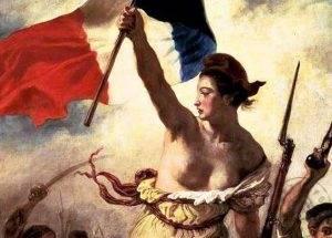 fransız ihtilalini anlatan tablo
