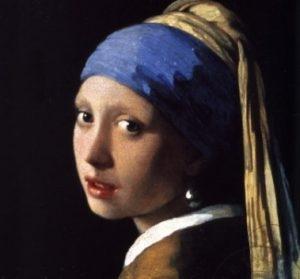 inci küpeli kız tablosu