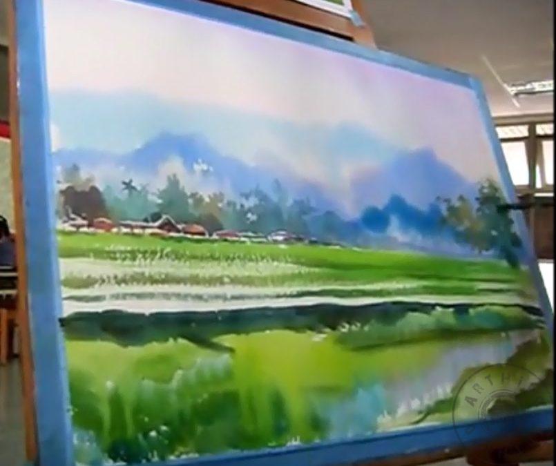 Suluboya Nasil Yapilir Suluboya Youtube Video Arthipo Resim