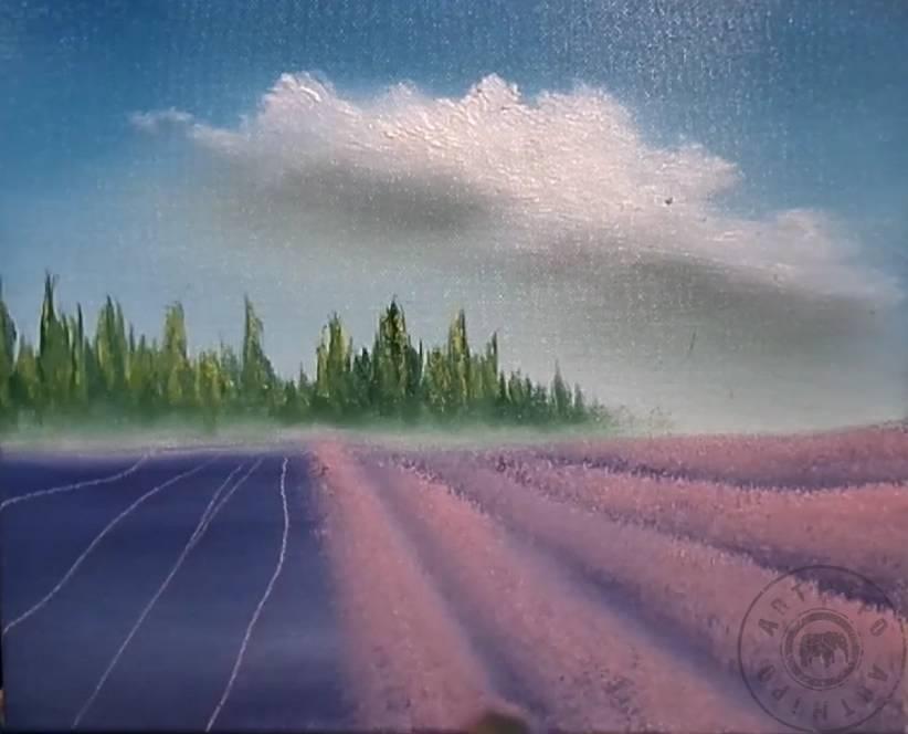 Manzara Resmi çizimi Yağlı Boya Manzara Resmi Nasıl Yapılır