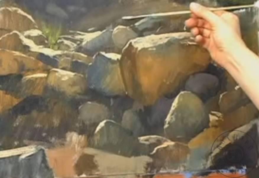 Yağlı boya resim nasıl yapılır