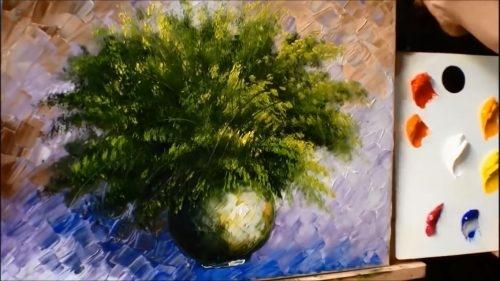 Akrilik Boya çiçek çizimi Akrilik Boya Resim Nasıl Yapılır Resim
