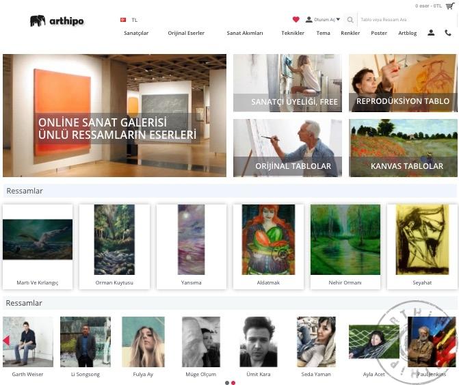 arthipo online sanat galerisi