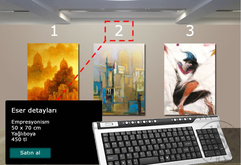 online sanat galerisi