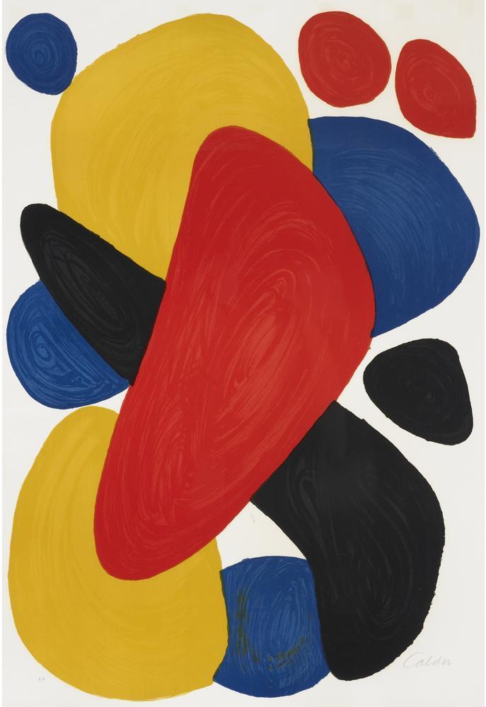 Alexander Calder Bumerang, Kanvas Tablo, Alexander Calder