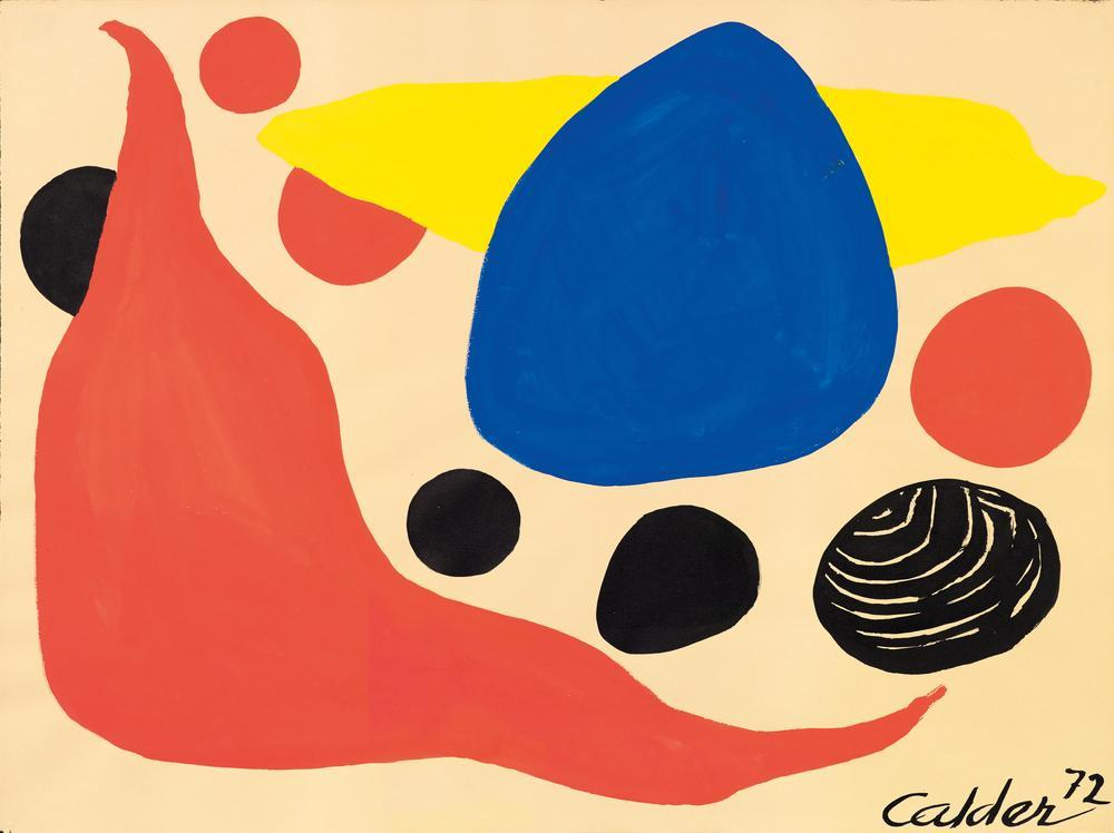 Alexander Calder Fat Red Boomerang, Canvas, Alexander Calder, kanvas tablo, canvas print sales