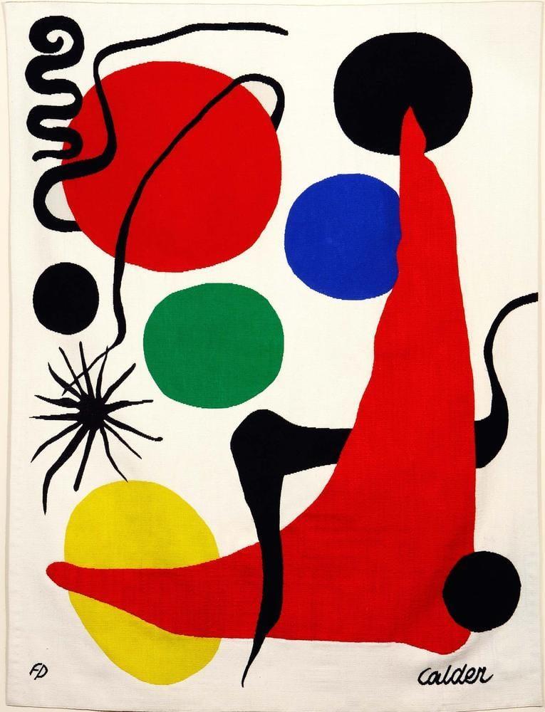 Alexander Calder Yeşil Top, Kanvas Tablo, Alexander Calder