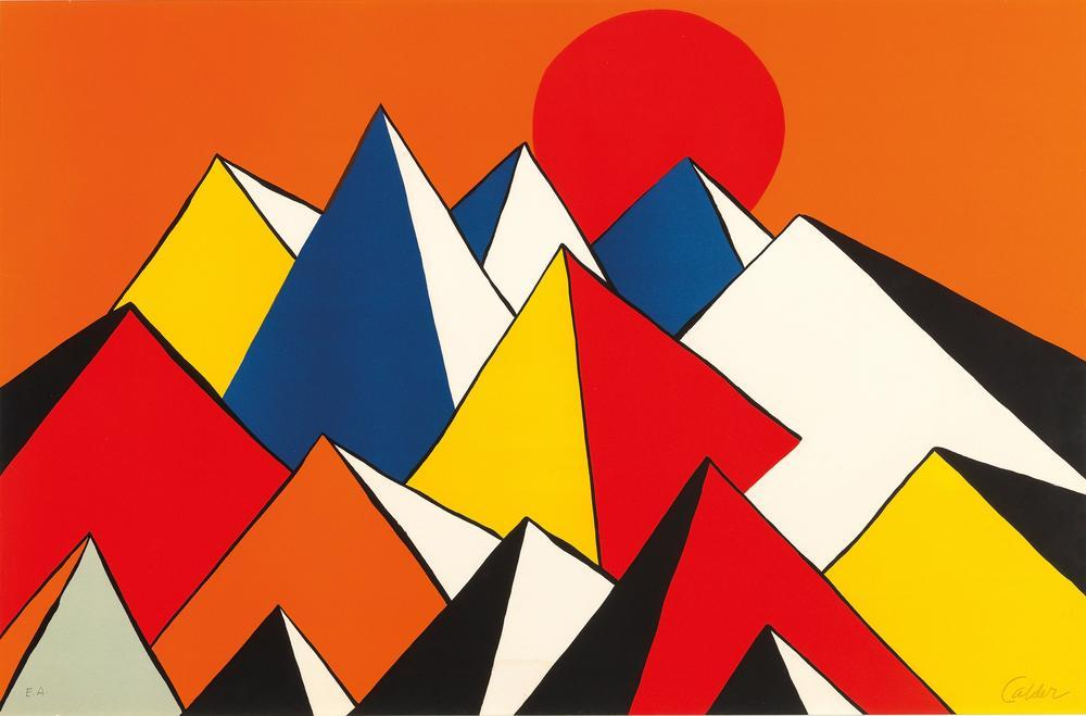 Alexander Calder Homage To The Sun, Canvas, Alexander Calder, kanvas tablo, canvas print sales