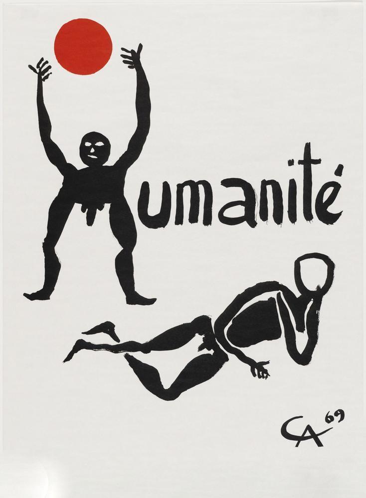Alexander Calder İnsanlık, Kanvas Tablo, Alexander Calder