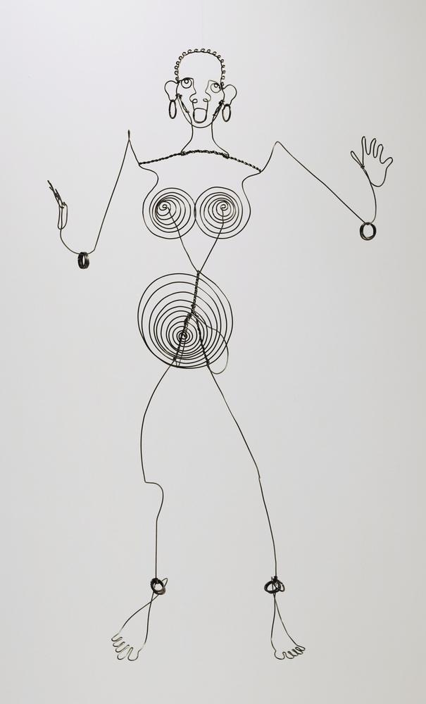 Alexander Calder Josephine Baker III, Kanvas Tablo, Alexander Calder
