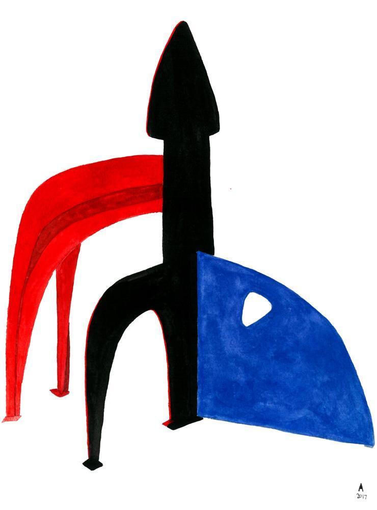 Alexander Calder Lores, Kanvas Tablo, Alexander Calder