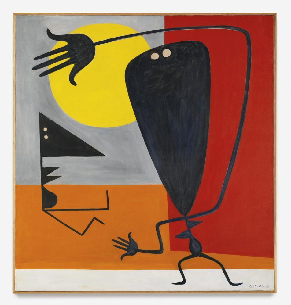 Alexander Calder Karakter, Kanvas Tablo, Alexander Calder, kanvas tablo, canvas print sales