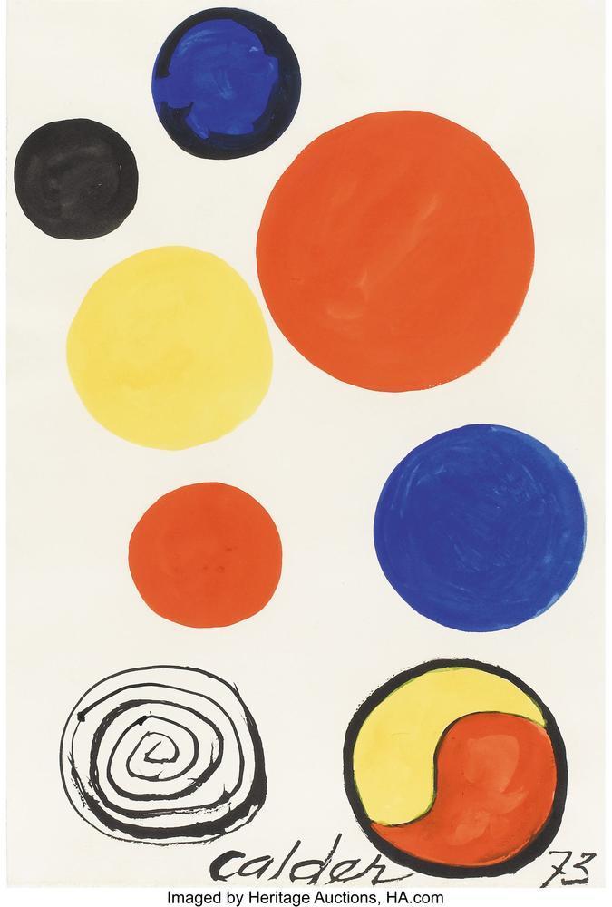 Alexander Calder Planets, Canvas, Alexander Calder, kanvas tablo, canvas print sales