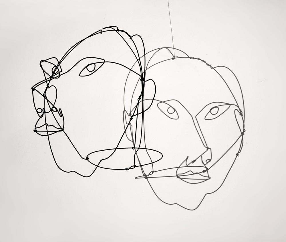 Alexander Calder Giovanni Carandente Portresi, Kanvas Tablo, Alexander Calder
