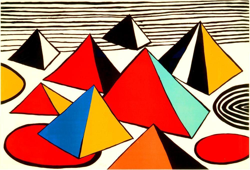 Alexander Calder Piramitler, Figür, Alexander Calder
