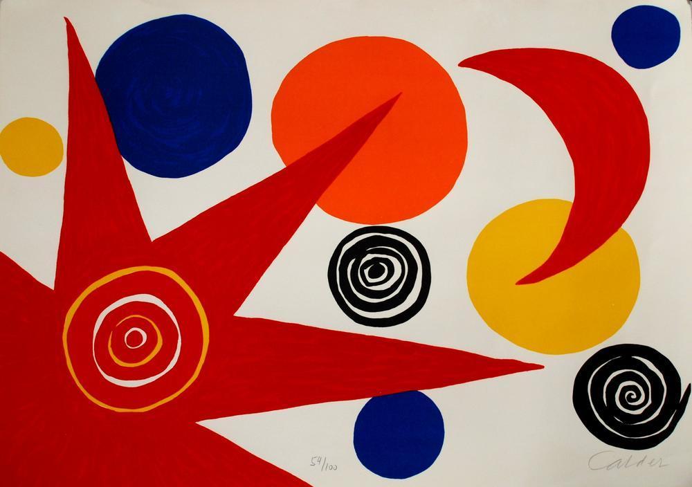 Alexander Calder Gökyüzü Kuş, Kanvas Tablo, Alexander Calder