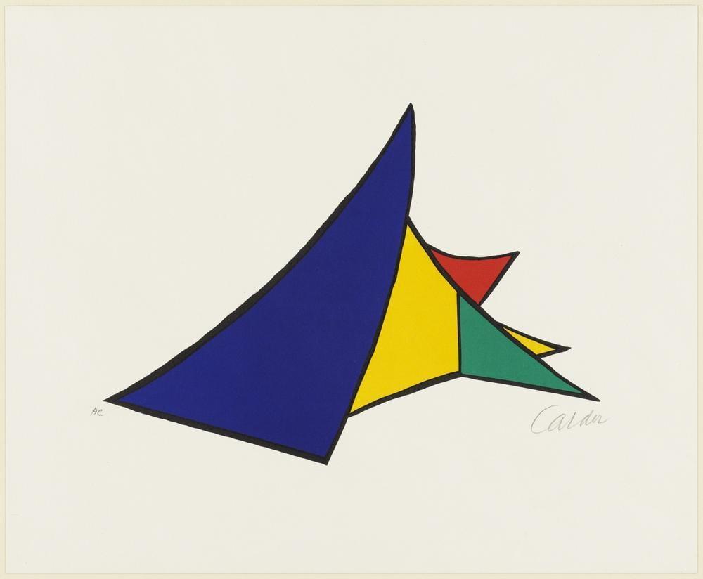 Alexander Calder Kar Küreme, Kanvas Tablo, Alexander Calder