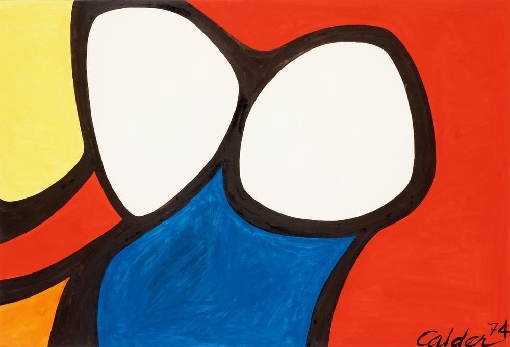 Alexander Calder Gözlük, Kanvas Tablo, Alexander Calder