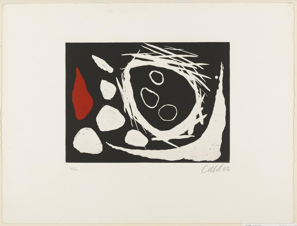 Alexander Calder The Skull In The Nest, Canvas, Alexander Calder, kanvas tablo, canvas print sales