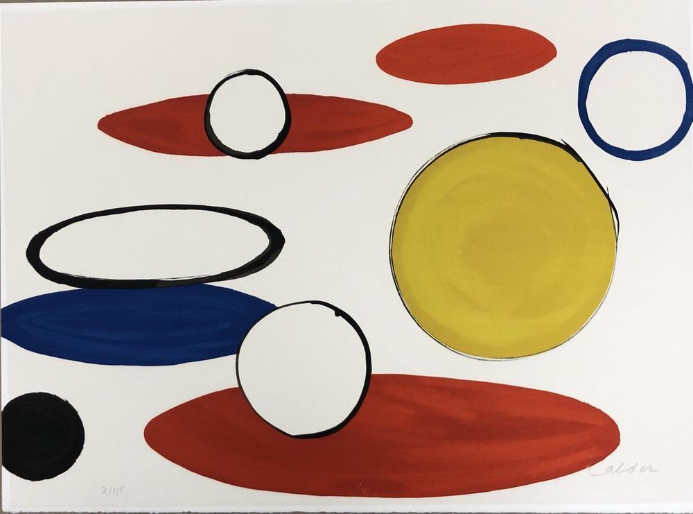 Alexander Calder Unfinished Revolution V, Canvas, Alexander Calder, kanvas tablo, canvas print sales