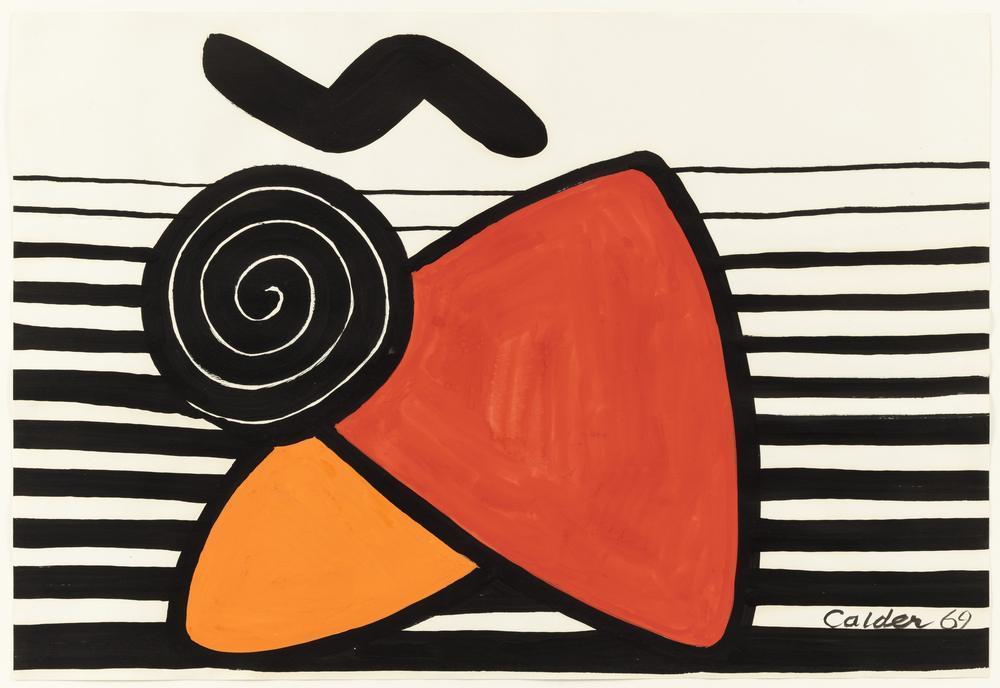 Alexander Calder İsimsiz I, Kanvas Tablo, Alexander Calder