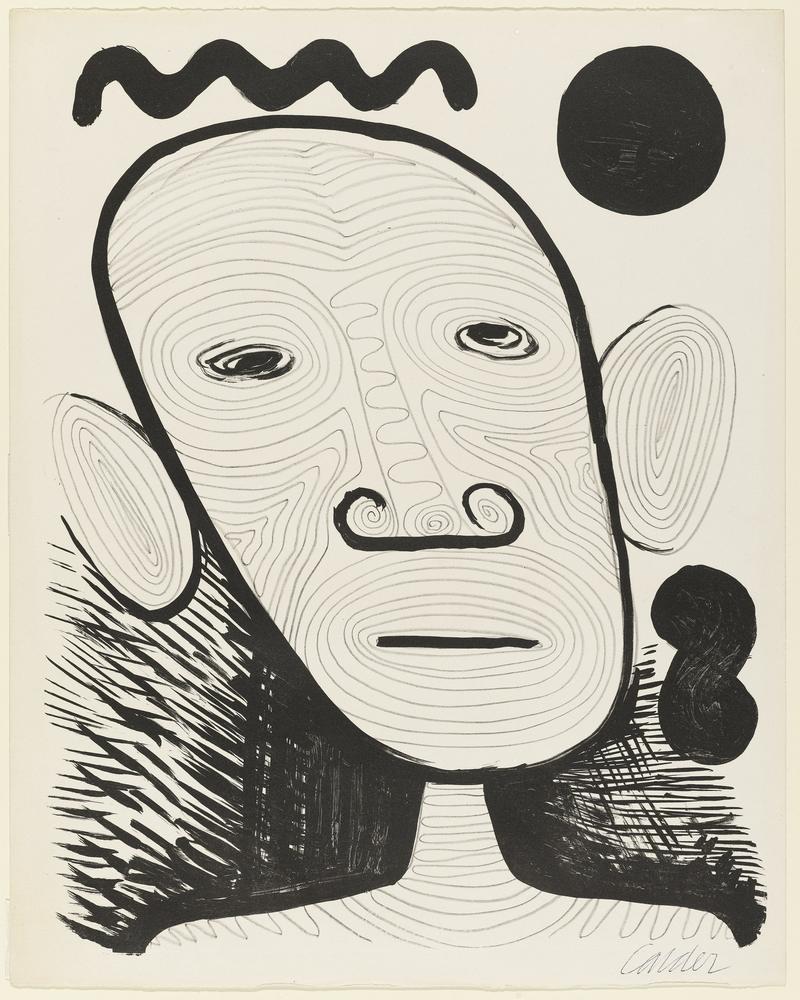 Alexander Calder İsimsiz VI, Kanvas Tablo, Alexander Calder