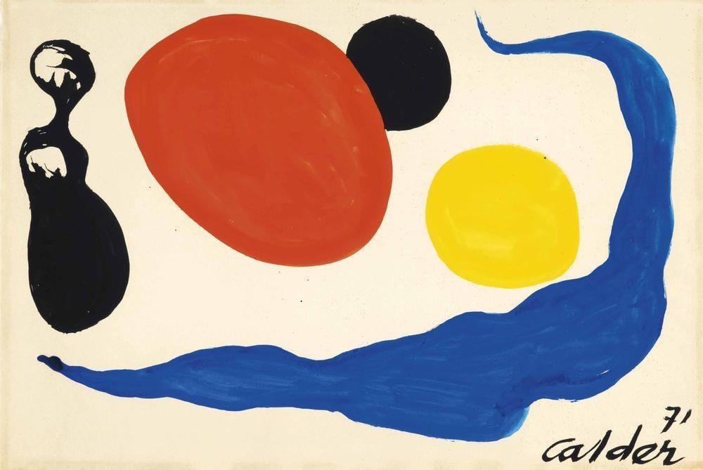 Alexander Calder İsimsiz VIII, Kanvas Tablo, Alexander Calder, kanvas tablo, canvas print sales