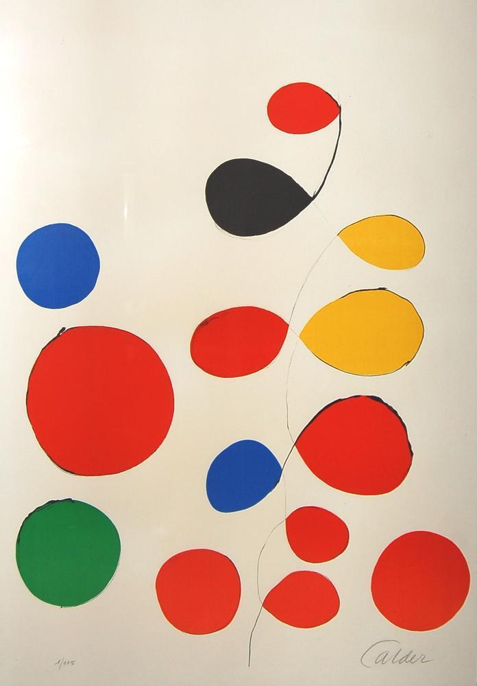Alexander Calder İsimsiz XIV, Kanvas Tablo, Alexander Calder