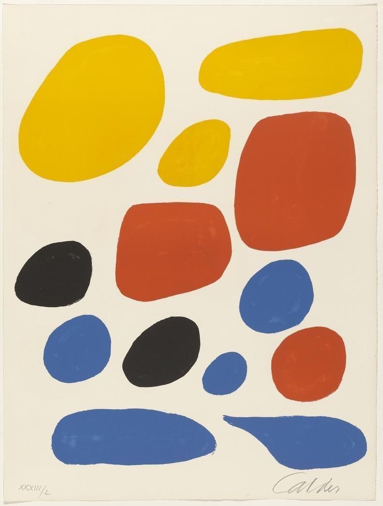 Alexander Calder Uçuştan İsimsiz, Kanvas Tablo, Alexander Calder, kanvas tablo, canvas print sales