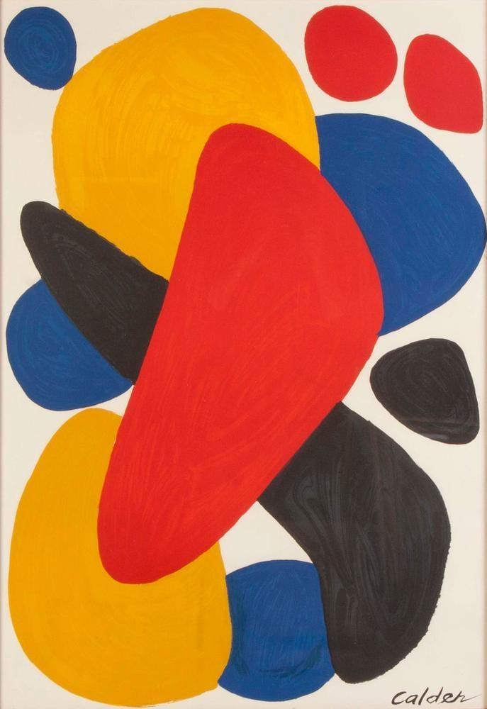 Alexander Calder Boomerang Tel Aviv, Canvas, Alexander Calder, kanvas tablo, canvas print sales