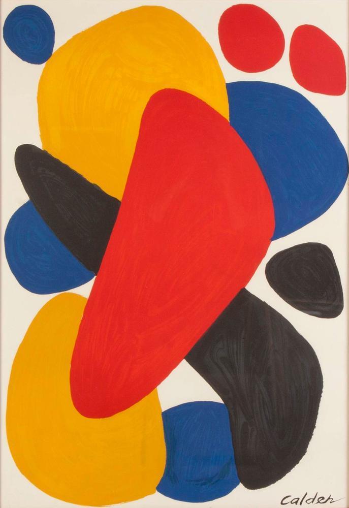 Alexander Calder Bumerang Tel Aviv, Kanvas Tablo, Alexander Calder