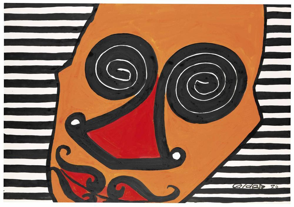 Alexander Calder Büyülenmiş, Kanvas Tablo, Alexander Calder