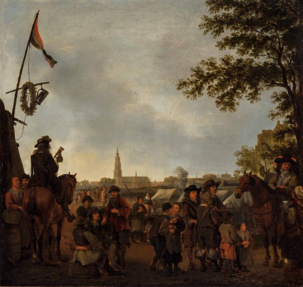 Abraham van Calraet, Dordrecht, Kanvas Tablo, Abraham van Calraet, kanvas tablo, canvas print sales