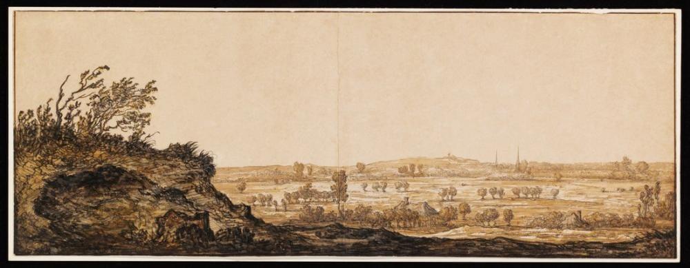 Aelbert Cuyp, View of Calcar on the Lower Rhine near Cleves, Canvas, Aelbert Cuyp, kanvas tablo, canvas print sales