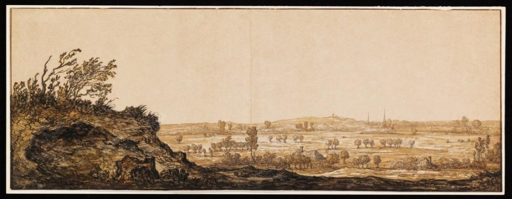 Aelbert Cuyp, Cleves Yakınındaki Alt Ren Calcar Görünümünü, Kanvas Tablo, Aelbert Cuyp