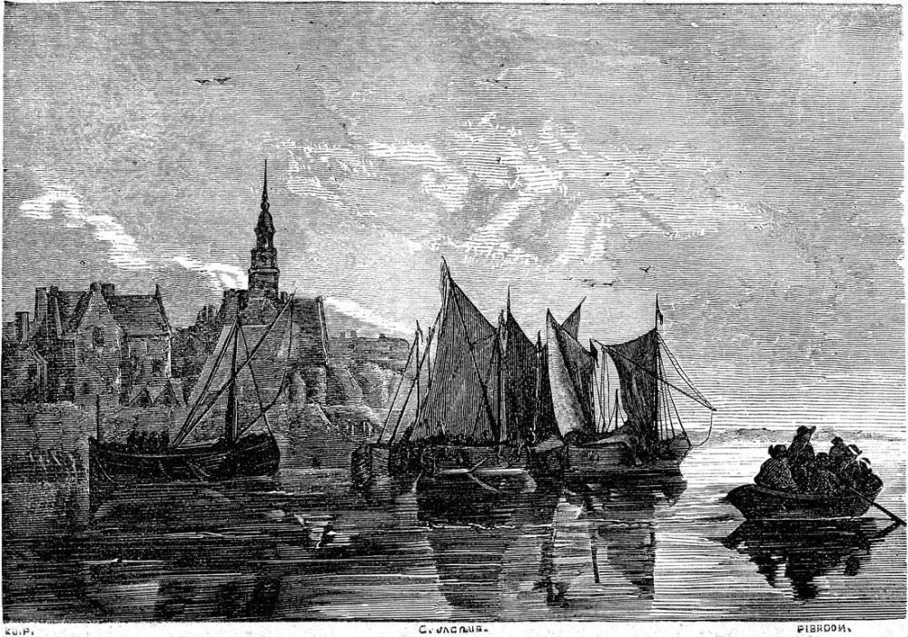 Aelbert Cuyp, Dordrecht Görünümü, Kanvas Tablo, Aelbert Cuyp