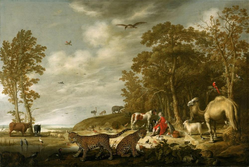 Aelbert Cuyp, Orpheus Hayvanları Büyüleyici, Kanvas Tablo, Aelbert Cuyp, kanvas tablo, canvas print sales