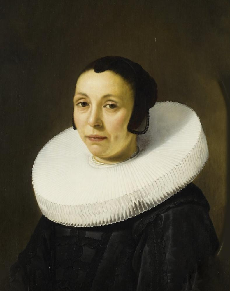 Aelbert Cuyp, Anna Blocken'in Portresi, Kanvas Tablo, Aelbert Cuyp