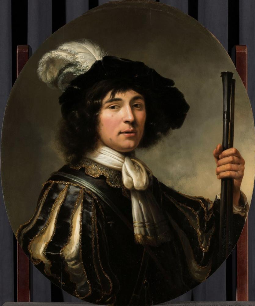 Aelbert Cuyp, Portrait of A Young Man, Canvas, Aelbert Cuyp, kanvas tablo, canvas print sales