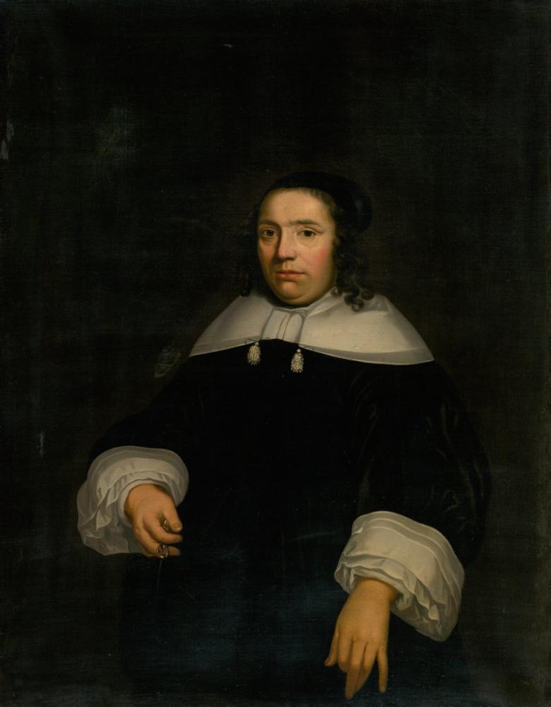 Aelbert Cuyp, Christina'nın Portresi, Kanvas Tablo, Aelbert Cuyp