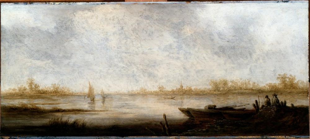 Aelbert Cuyp, Nehir Manzarası, Kanvas Tablo, Aelbert Cuyp, kanvas tablo, canvas print sales