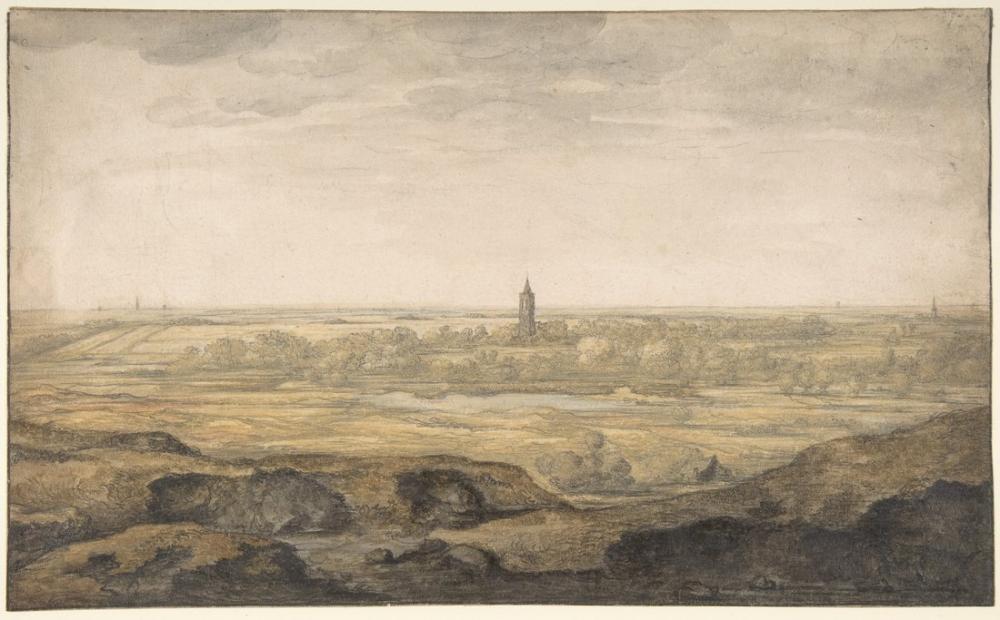 Aelbert Cuyp, Yelkenli ile Nehir Manzara, Kanvas Tablo, Aelbert Cuyp