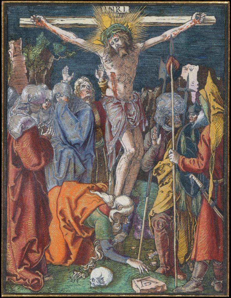 Albrecht Dürer Çarmıha Germe, Kanvas Tablo, Albrecht Dürer, kanvas tablo, canvas print sales
