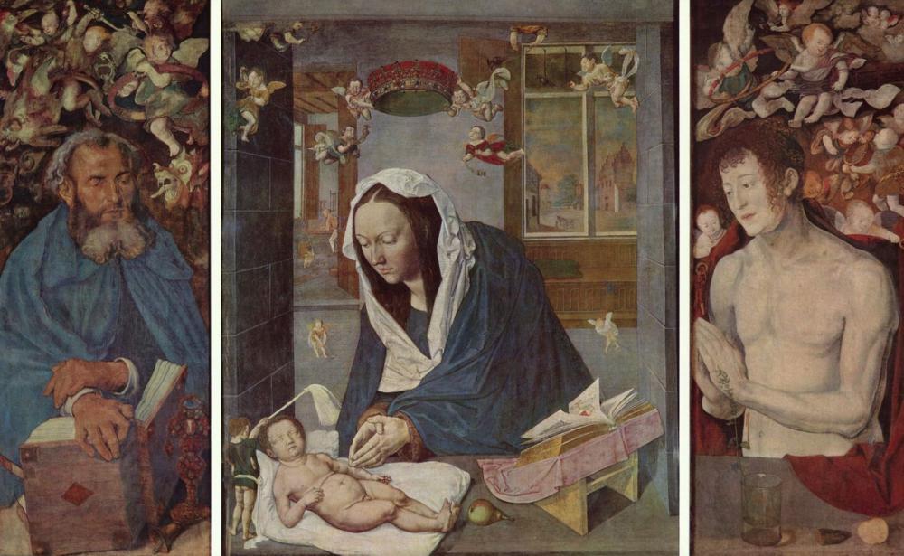 Albrecht Dürer Dresden Sunağı, Kanvas Tablo, Albrecht Dürer