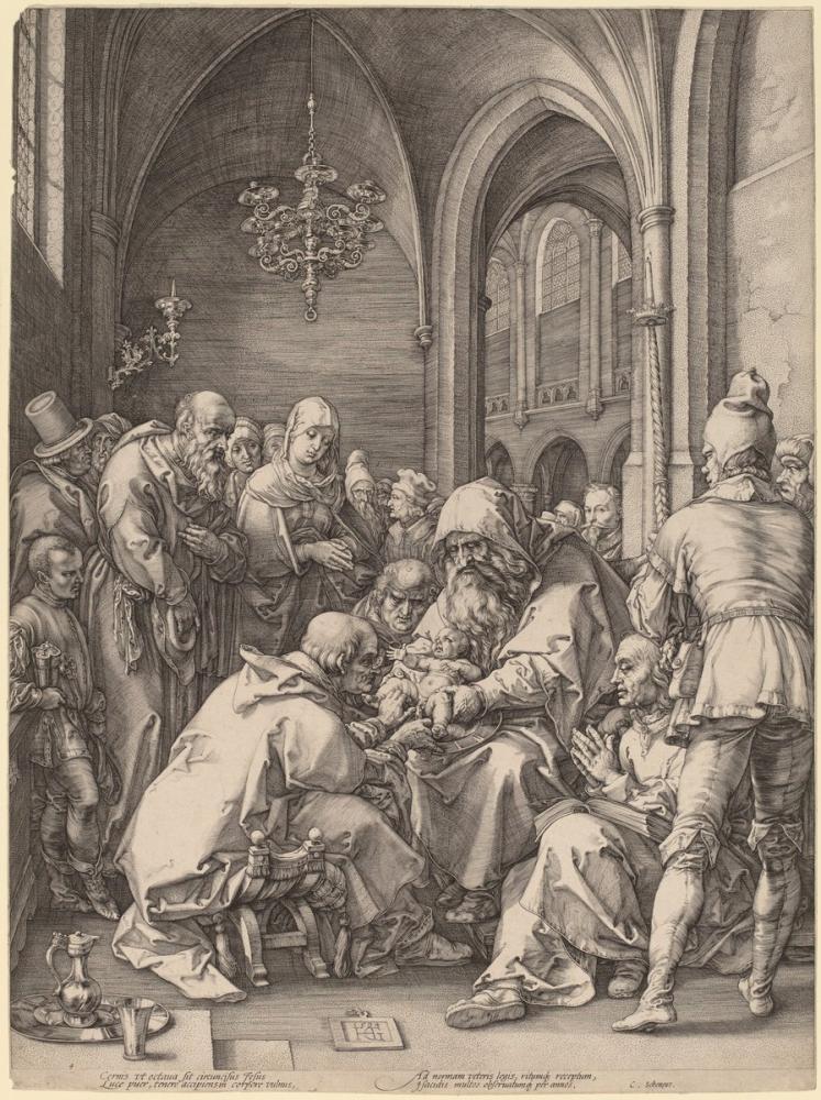 Albrecht Dürer Hendrik Goltzius In The Style Of The Circumcision, Canvas, Albrecht Dürer