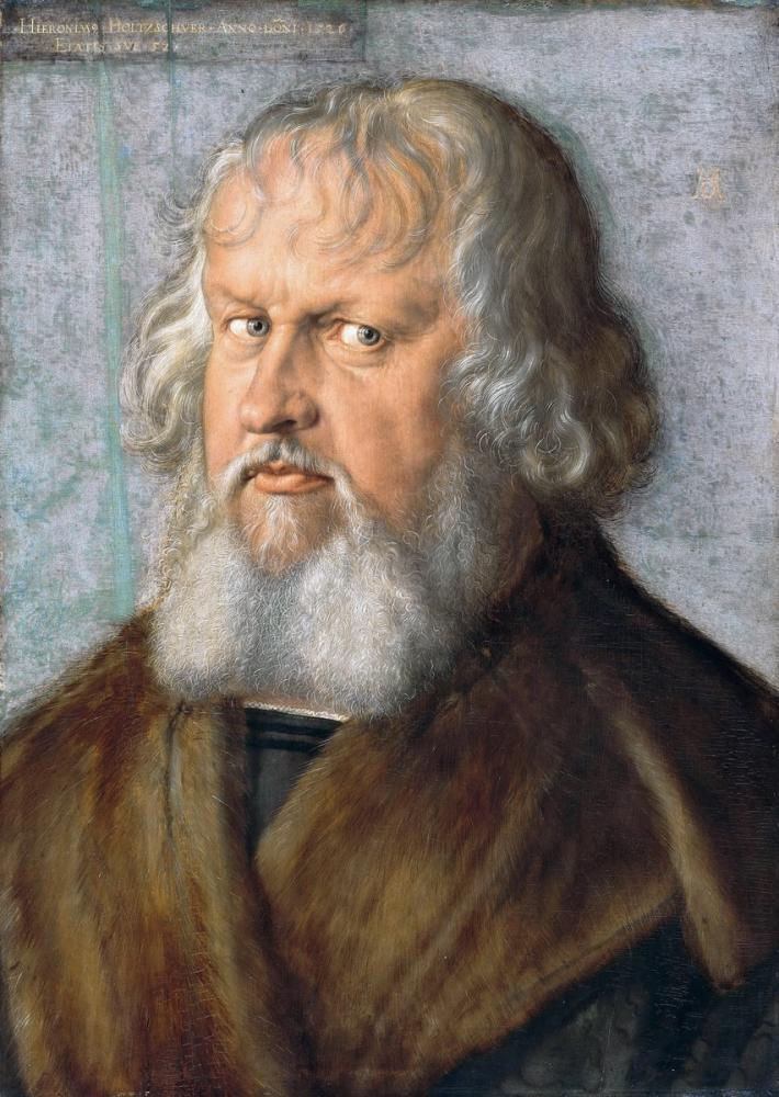 Albrecht Dürer Hieronymus Holzschuher, Kanvas Tablo, Albrecht Dürer
