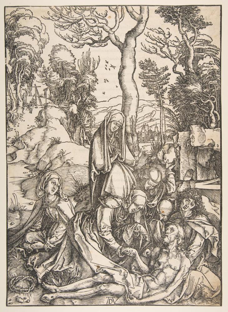 Albrecht Dürer Mesih İçin Laminasyon, Kanvas Tablo, Albrecht Dürer